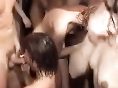 Amazing orgy with hottest of the babes